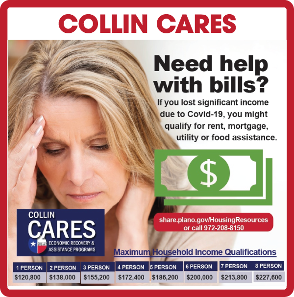 Collin Cares Economic Recovery and Assistance Programs Information