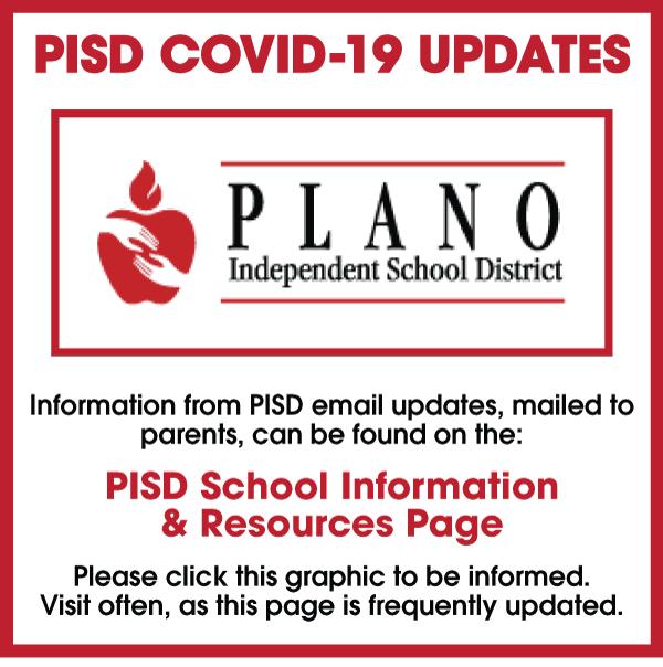PISD COVID-19 Updates