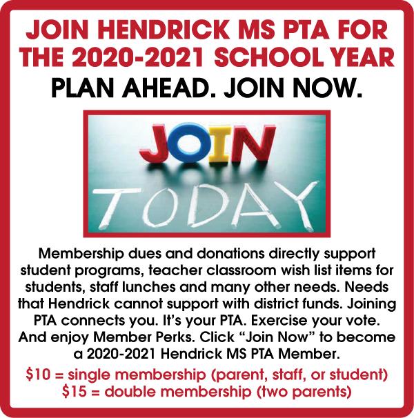 2020-2021 PTA Membership Information