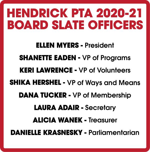 2020-2021 PTA Board Nominations Information