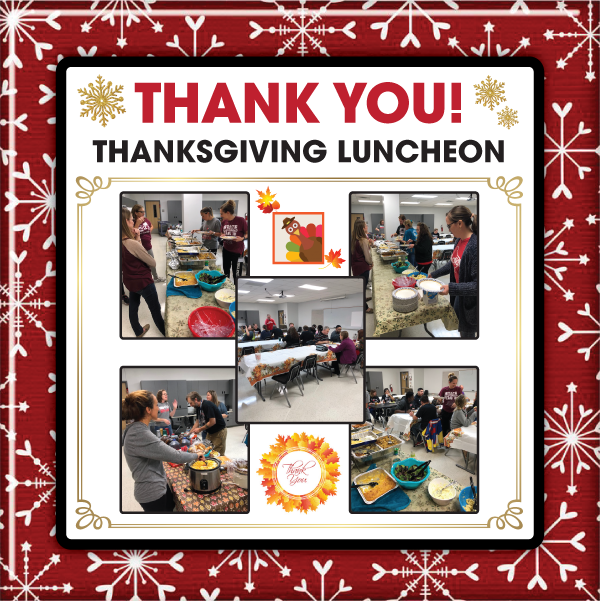 November Thanksgiving Luncheon
