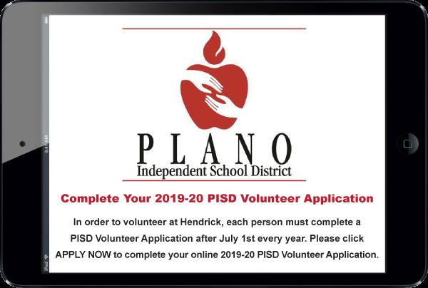 PISD Application Information