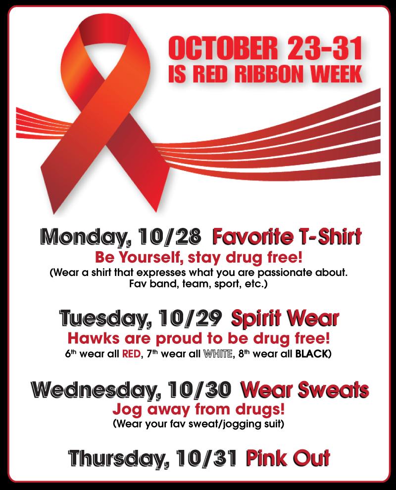 Red Ribbon Week 2019 - October 23-31