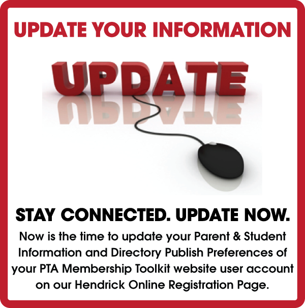 Update Your User Information